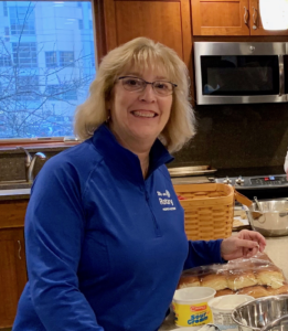 Mary Lee Penney Volunteering at the Ronald McDonald House in Ann Arbor